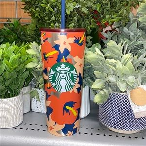 Starbucks Hibiscus Hawaiian 24 oz Travel Cup